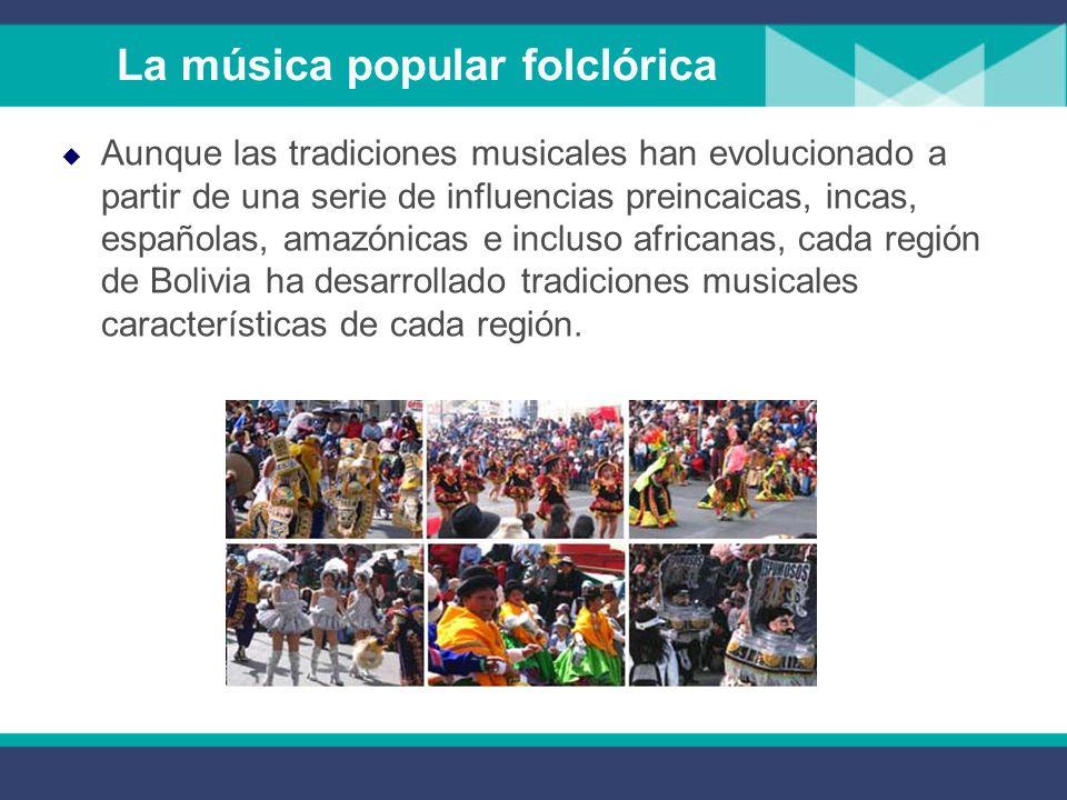La cultura mestiza urbana. La cueca, el huayño y el bailecito, formas surgidas a partir de danzas españolas y criollas, se enriquecieron con textos ai