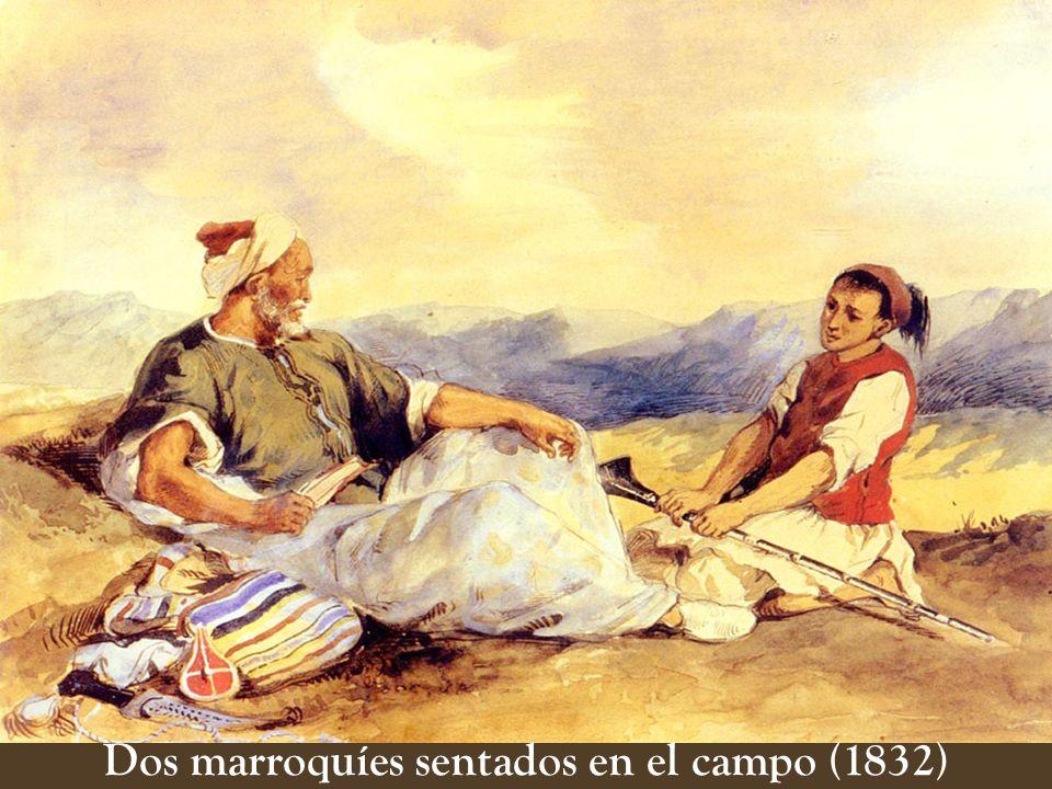 En 1832, realiza un viaje de seis meses a Marruecos y Argelia, descubriendo allí la deslumbrante luz y el color de sus paisajes, sus gentes, la sensua