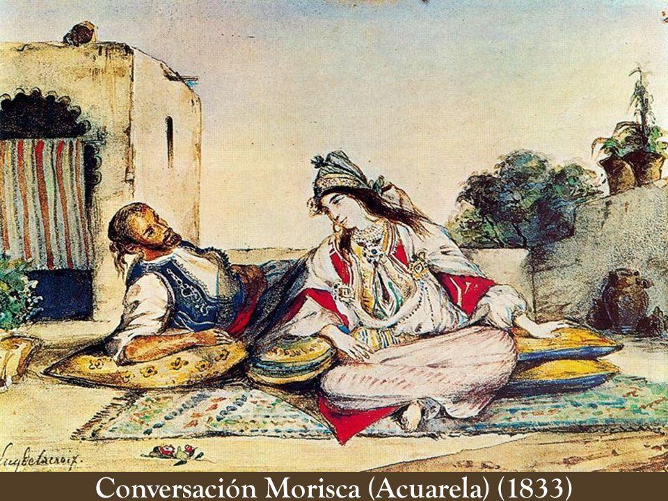 La Novia Judía en Tánger (Acuarela) (1832)
