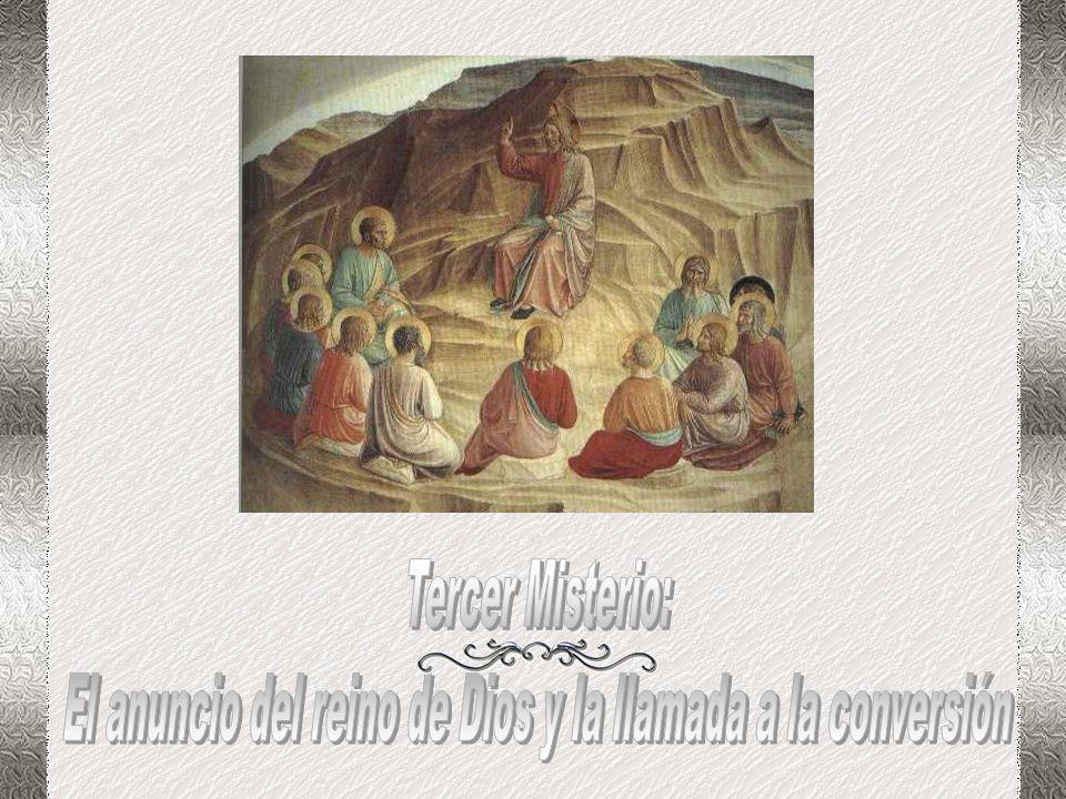 Consumado el desierto y el ayuno, va Jesús a Caná, para un festejo, le acompañan sus fieles, su cortejo de hermanos en la fe del Trino y Uno. Que Jesú