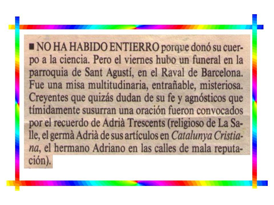ENCUENTRO EN EL CENTRO ESPAÑOL LASALIANO. CEL 25 de abril de 1991.