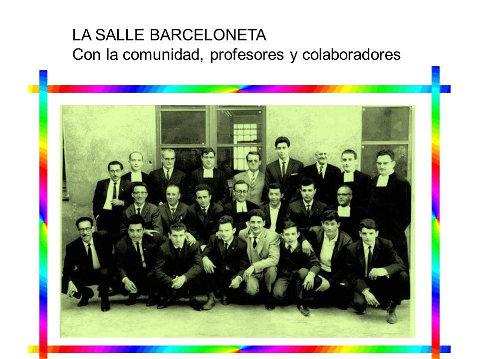 LA SALLE BONANOVA Celebración con sus antiguos alumnos