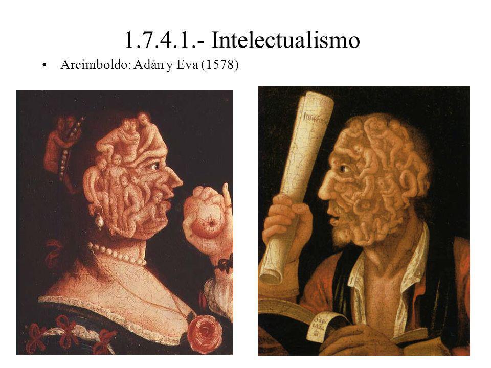1.7.4.1.- Intelectualismo Arcimboldo: Adán y Eva (1578)