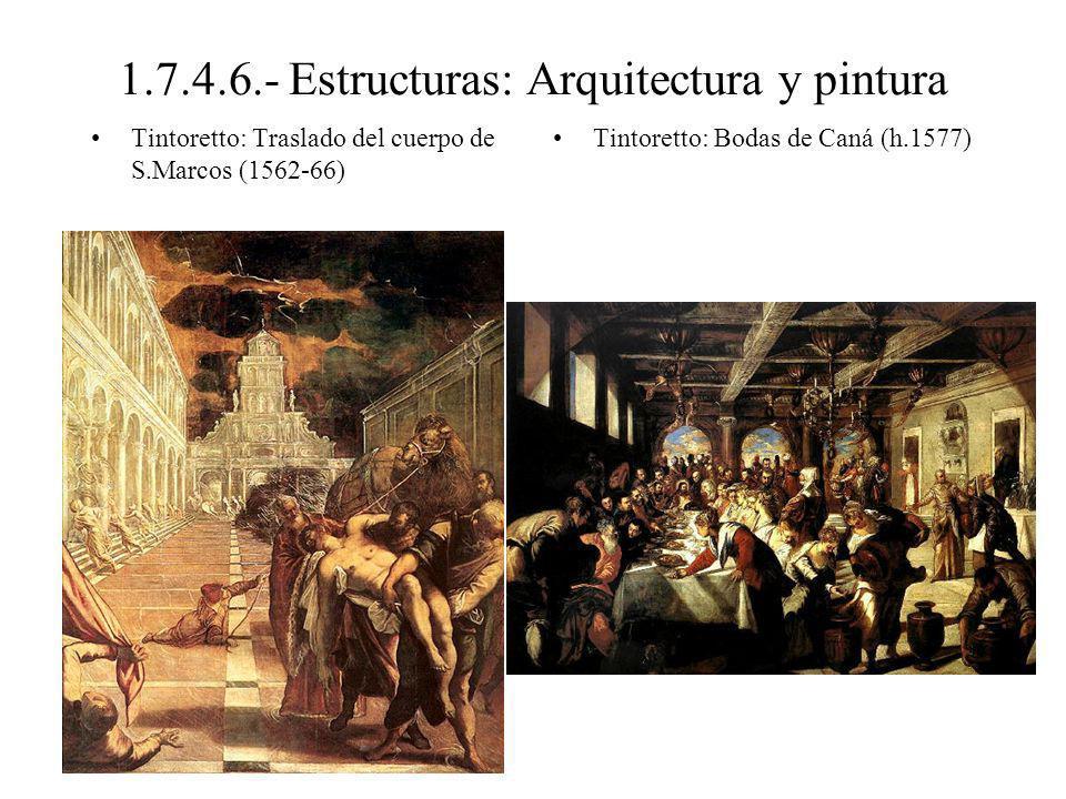 1.7.4.6.- Estructuras: El cuerpo humano Parmigianino: Madonna del collo longo (1534-40, Uffizi) Parmigianino: Cupido (1531 Viena)