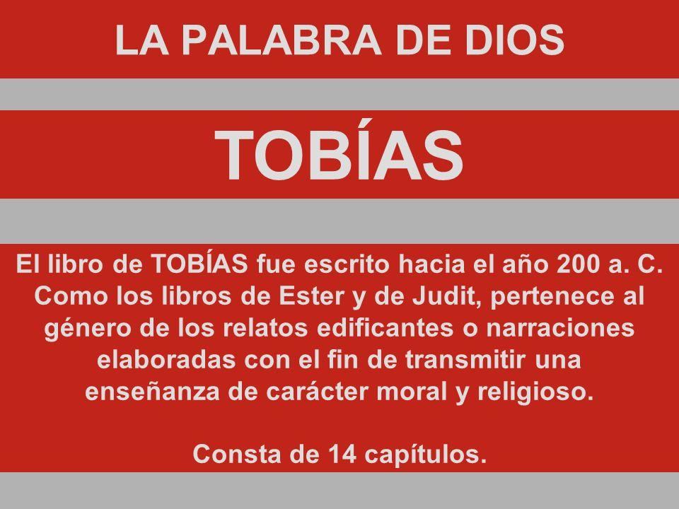 MENSAJE #20 TOBÍAS
