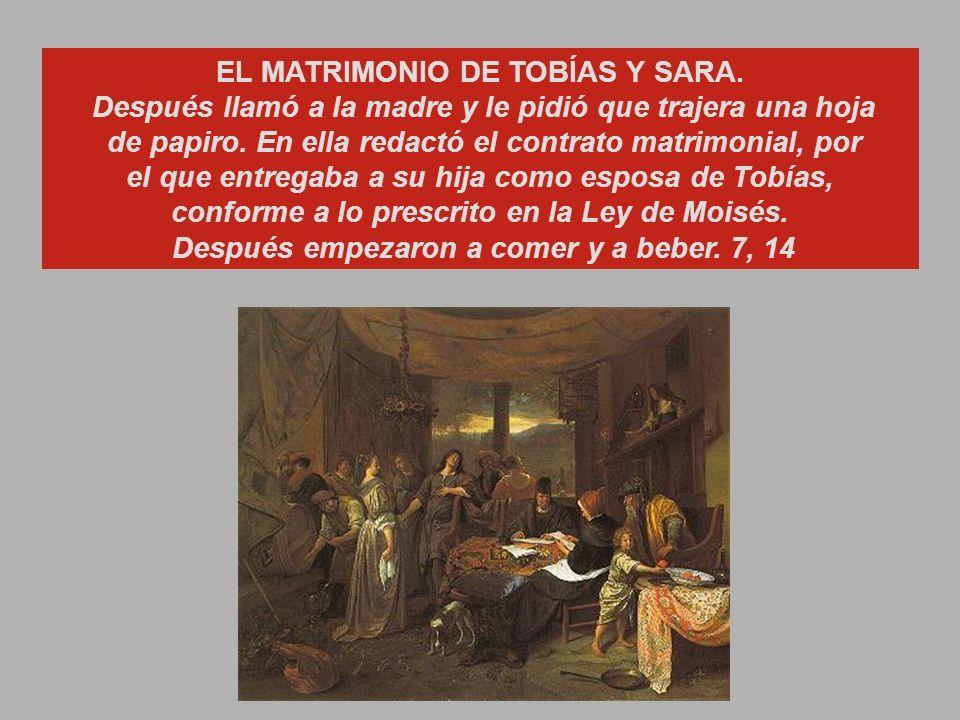 Cap.7 EL RECIBIMIENTO EN LA CASA DE RAGÜEL.