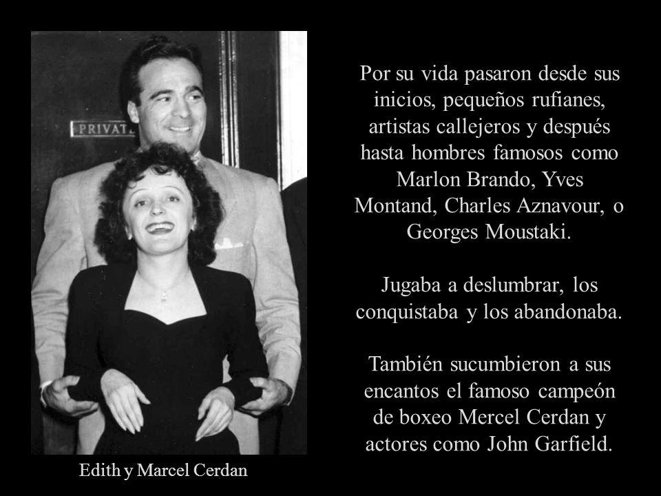 En 1933, a los 17 años, tiene una hija con su amante Louis Dupont, llamada Marcelle, que muere de meningitis a los dos años de edad, en 1935. Su autob