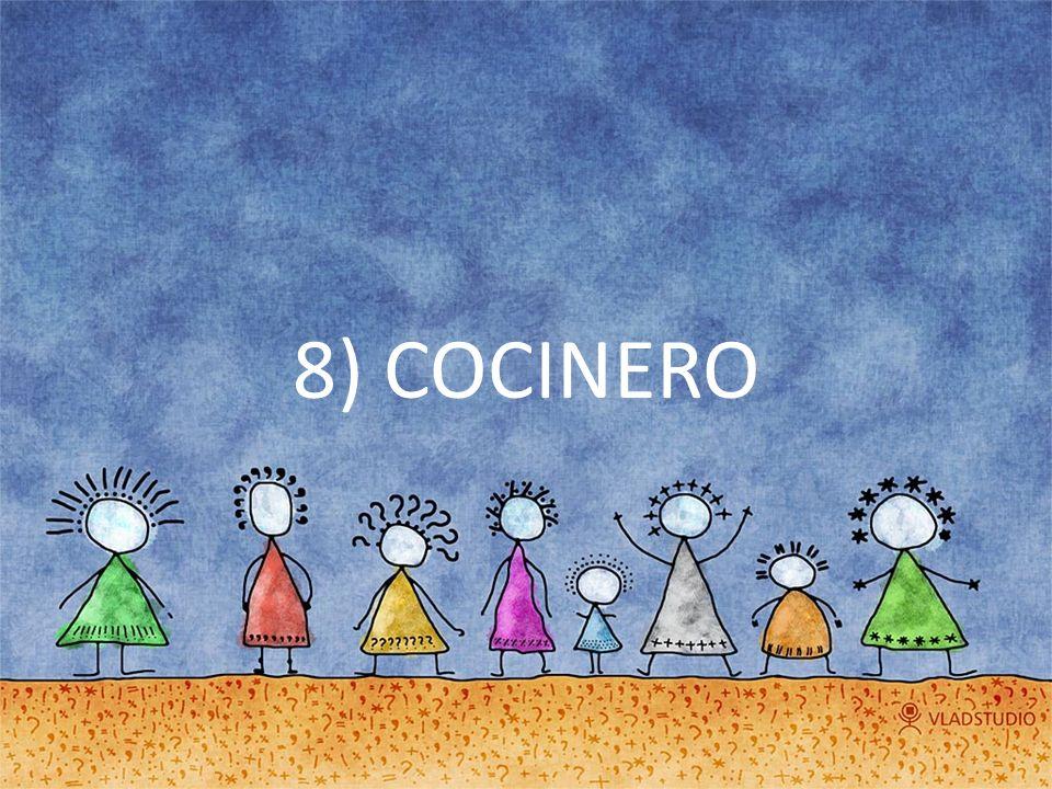 8) COCINERO