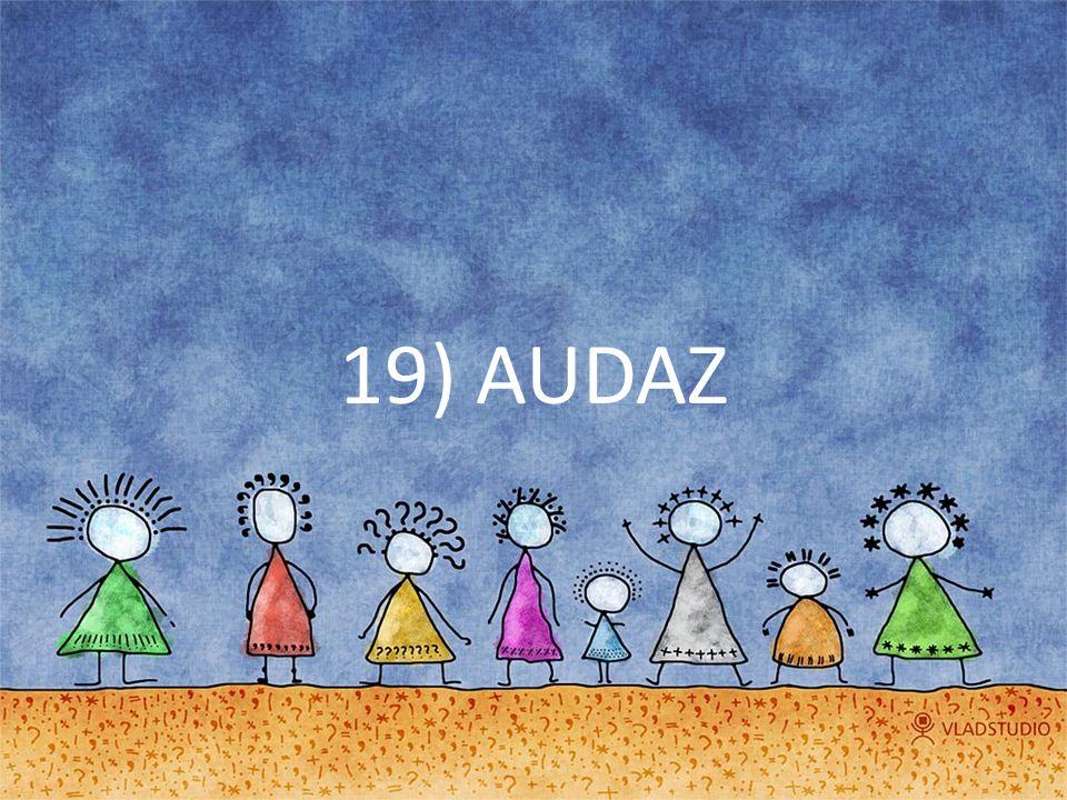 19) AUDAZ