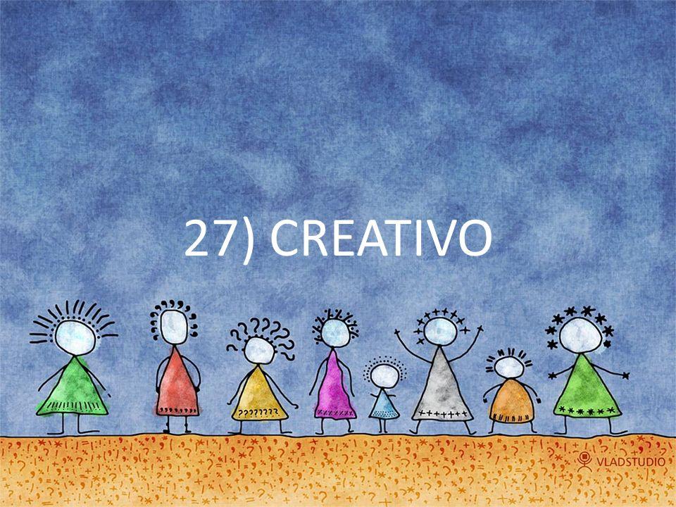 27) CREATIVO