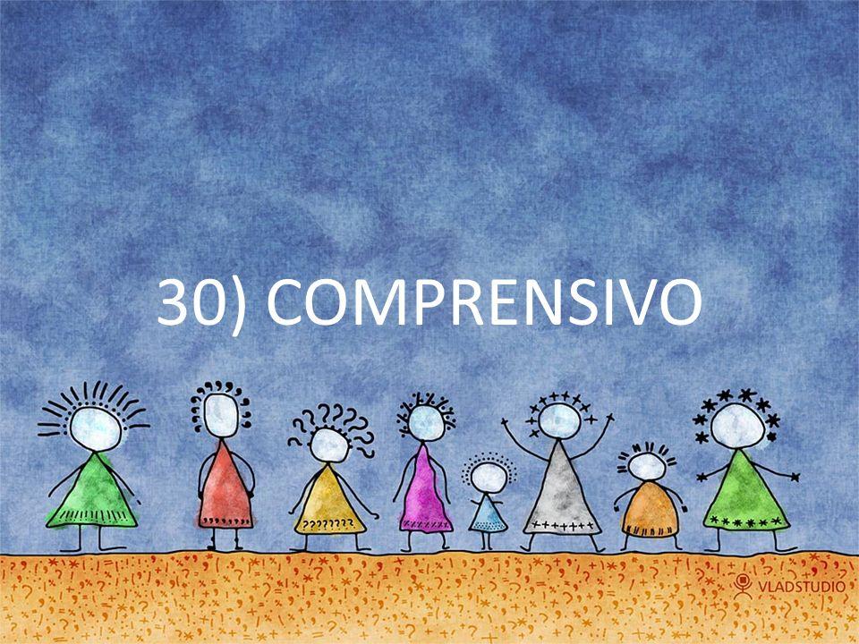 30) COMPRENSIVO
