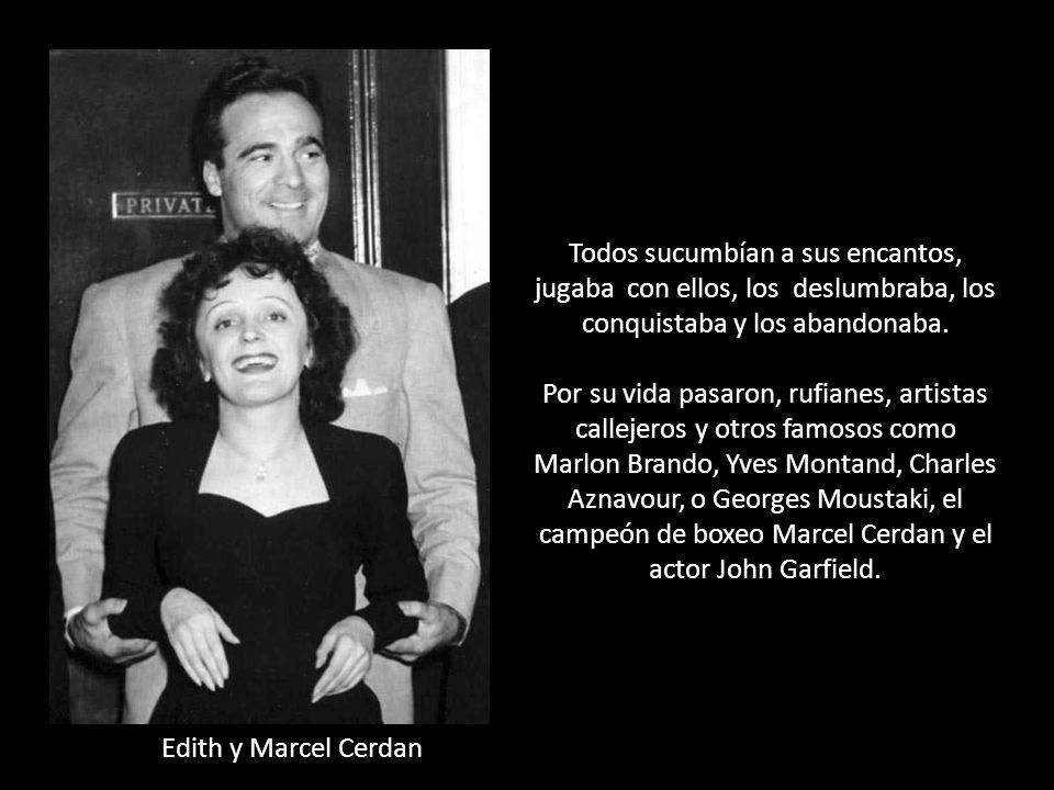 Su vida sentimental. Edith a pesar de no ser precisamente una mujer guapa, medía 1,53 m de estatura, era una femme fatale, emanaba un encanto especial