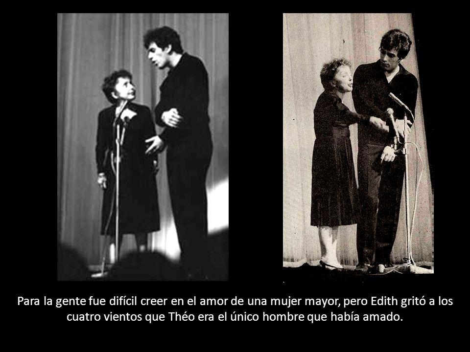 Edith decía que era el definitivo y más grande amor de su vida. Se casó con él. Todo el mundo pensó que era un gigoló que quería aprovecharse de su fo