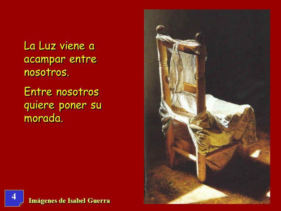 Imágenes de Isabel Guerra 44 Hágase tu voluntad, para ser testigo de que no hay otro bien fuera de ti.