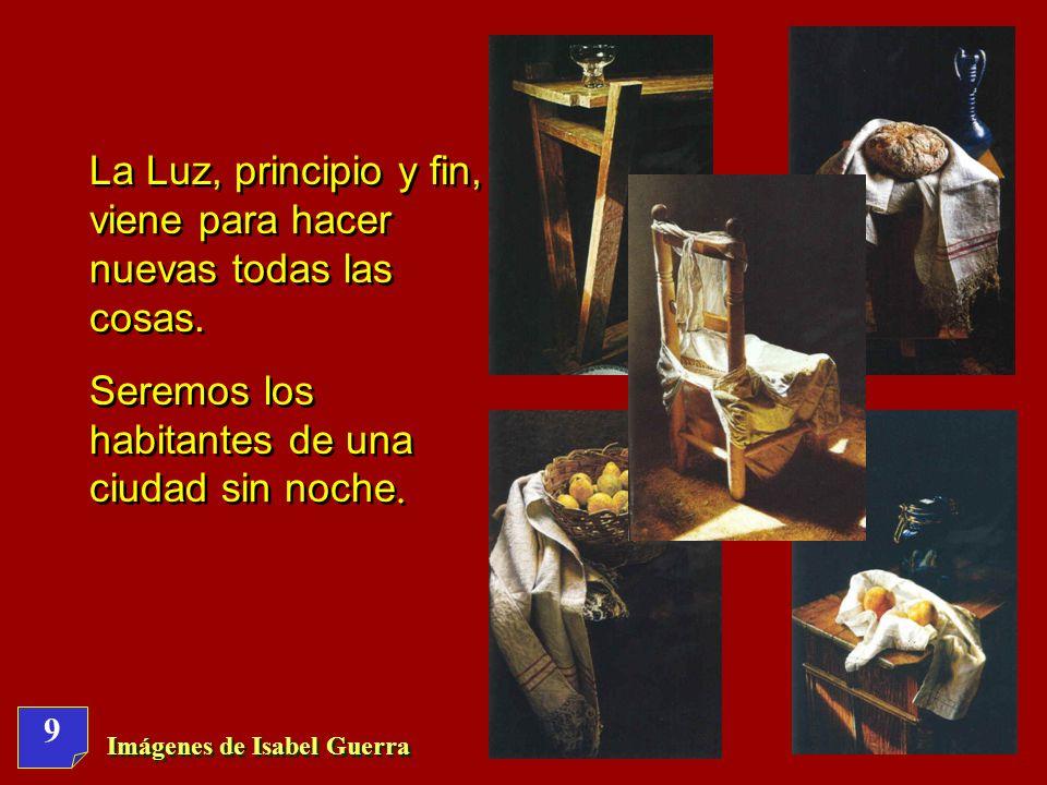 Imágenes de Isabel Guerra 49 Reflexi ó n personal en silencio