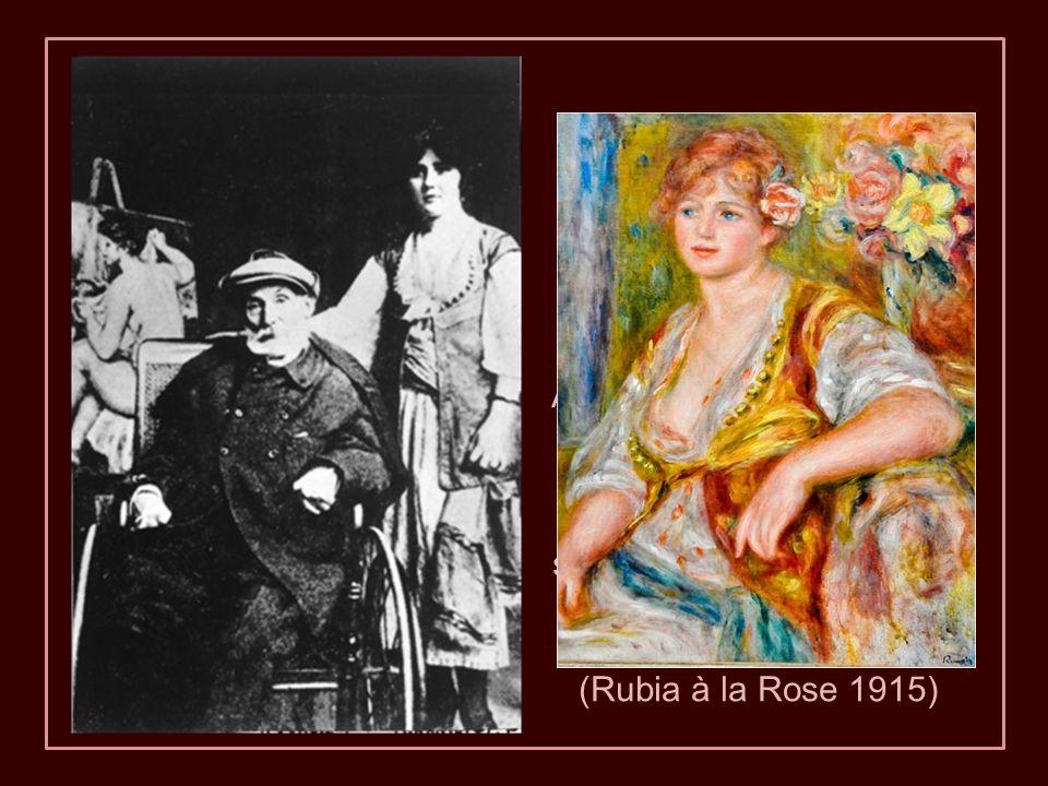 En 1908, Renoir comenzó a utilizar dos bastones.