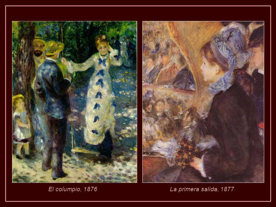 Cuando miramos las pinturas de Renoir, es fácil olvidar que sufría un gran problema (…). Pintar fue casi una necesidad física y a veces una cura, como