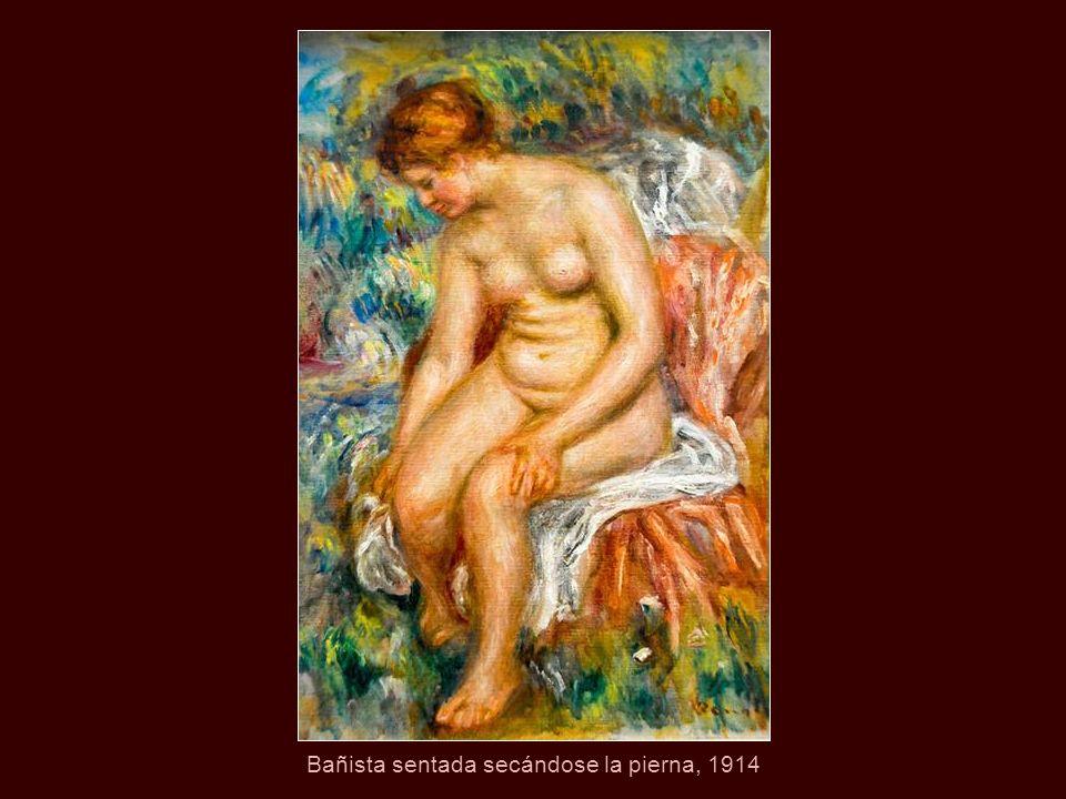 Bañista de pelo rojo, 1906