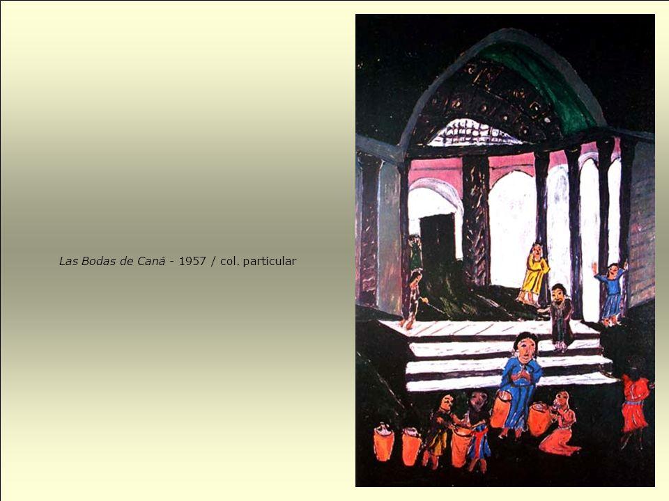 Placita de Petare en 1910 (Paisaje con escalinata) - 1953 / col. Galería de Arte Nacional