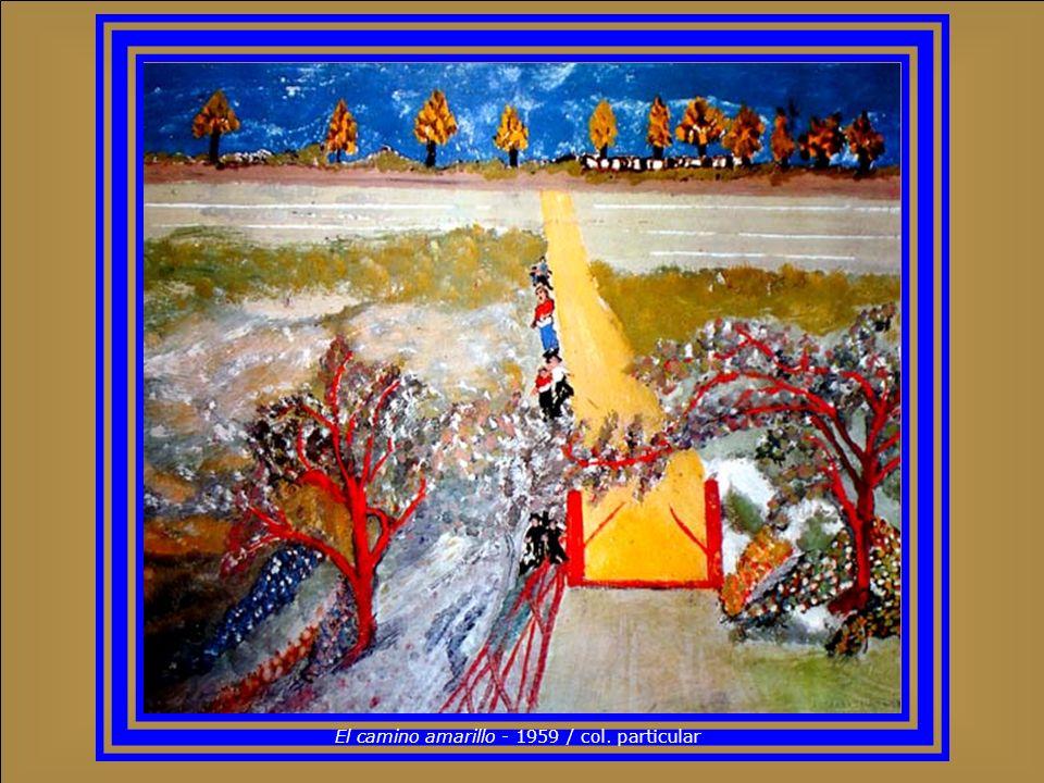 La sagrada familia - 1952 / col. Galería de Arte Nacional