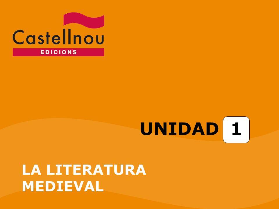 UNIDAD 1 LA LITERATURA MEDIEVAL