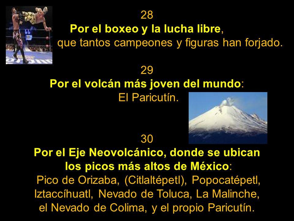 25 Por las bellezas consideras Patrimonio de la Humanidad; entre muchas otras, Monte Albán, Teotihuacán, Palenque, el centro de la ciudad de Guanajuat