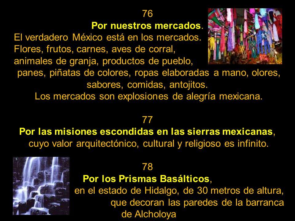 74 Por la cantidad y la variedad de los museos mexicanos. Abundan en cada ciudad, y casi todos los pueblos los presumen. Antropología, sitios históric