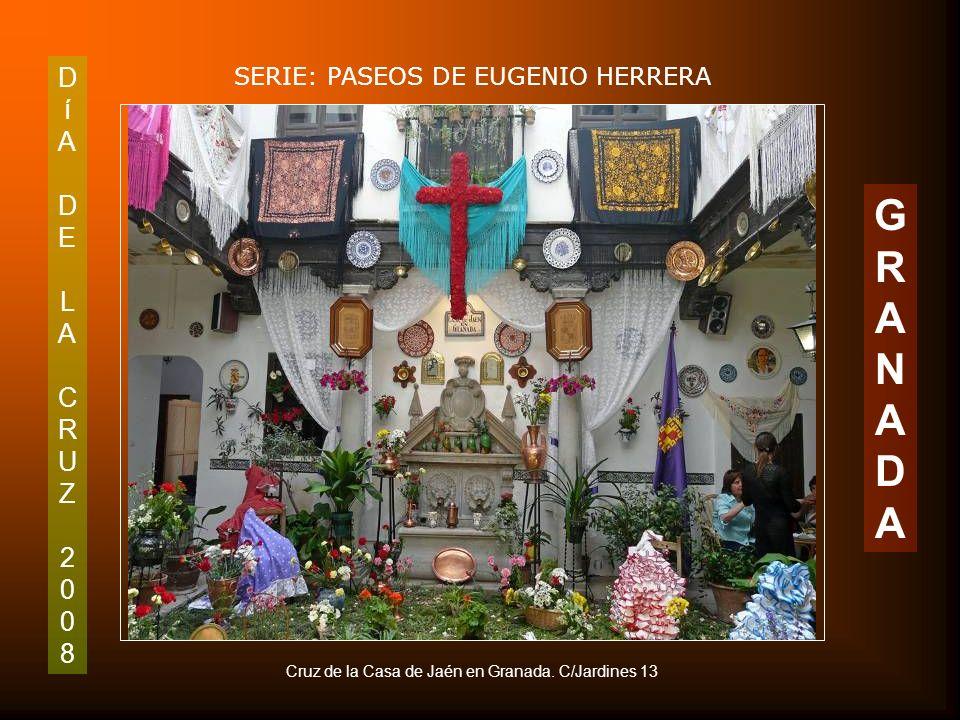 DíADELACRUZ2008DíADELACRUZ2008 SERIE: PASEOS DE EUGENIO HERRERA GRANADAGRANADA Fiesta tradicional de la ciudad, perfectamente documentada en esta foto