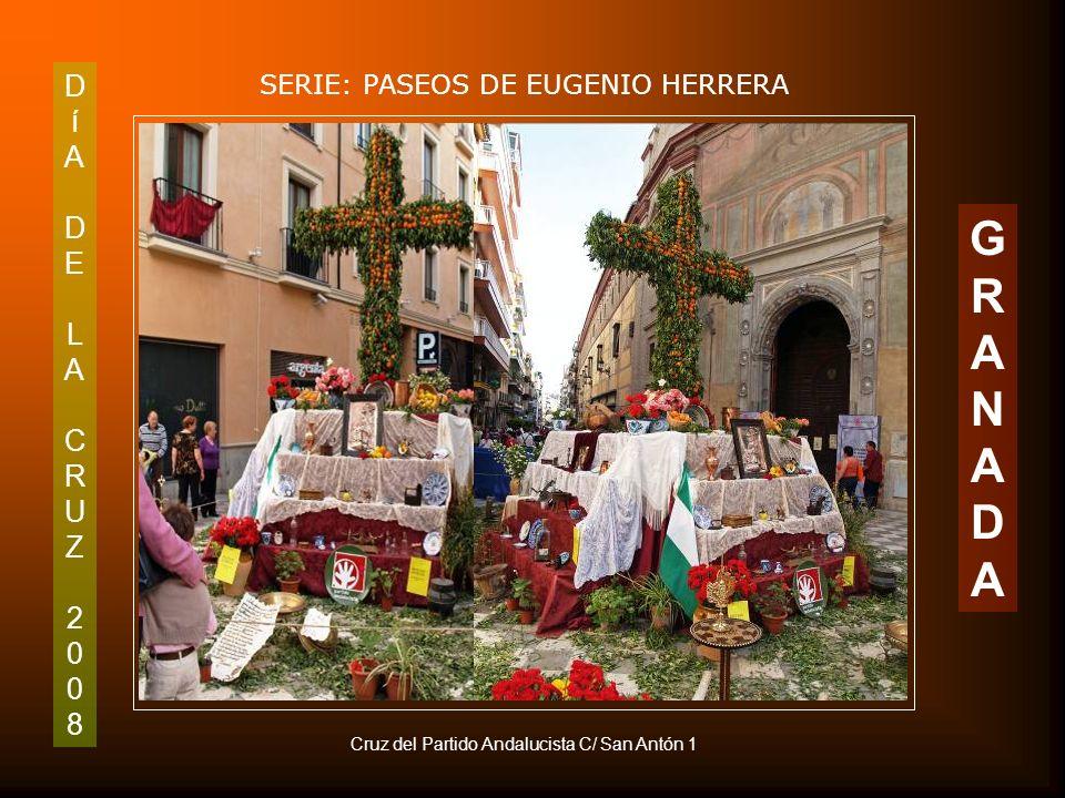 DíADELACRUZ2008DíADELACRUZ2008 SERIE: PASEOS DE EUGENIO HERRERA GRANADAGRANADA Detalle de la Plaza del Padre Suárez