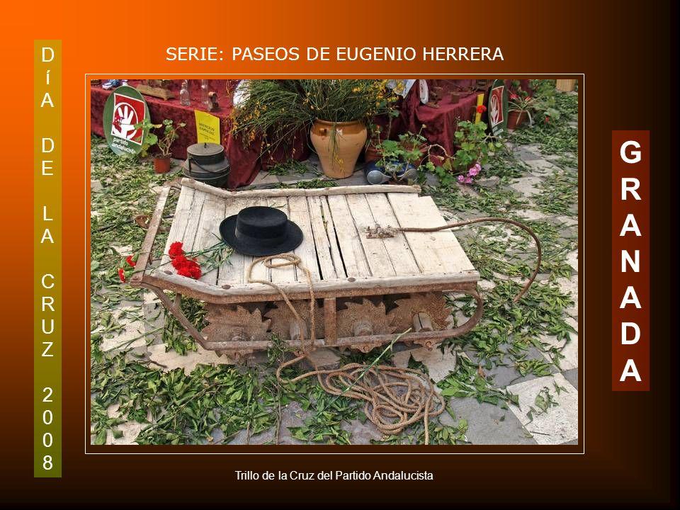 DíADELACRUZ2008DíADELACRUZ2008 SERIE: PASEOS DE EUGENIO HERRERA GRANADAGRANADA Cruz del Partido Andalucista C/ San Antón 1