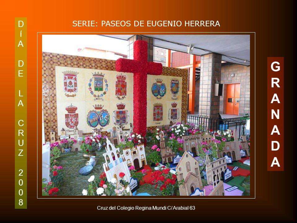 DíADELACRUZ2008DíADELACRUZ2008 SERIE: PASEOS DE EUGENIO HERRERA GRANADAGRANADA Detalle de la Cruz de Asociación Juvenil Pandora. Puerta Real
