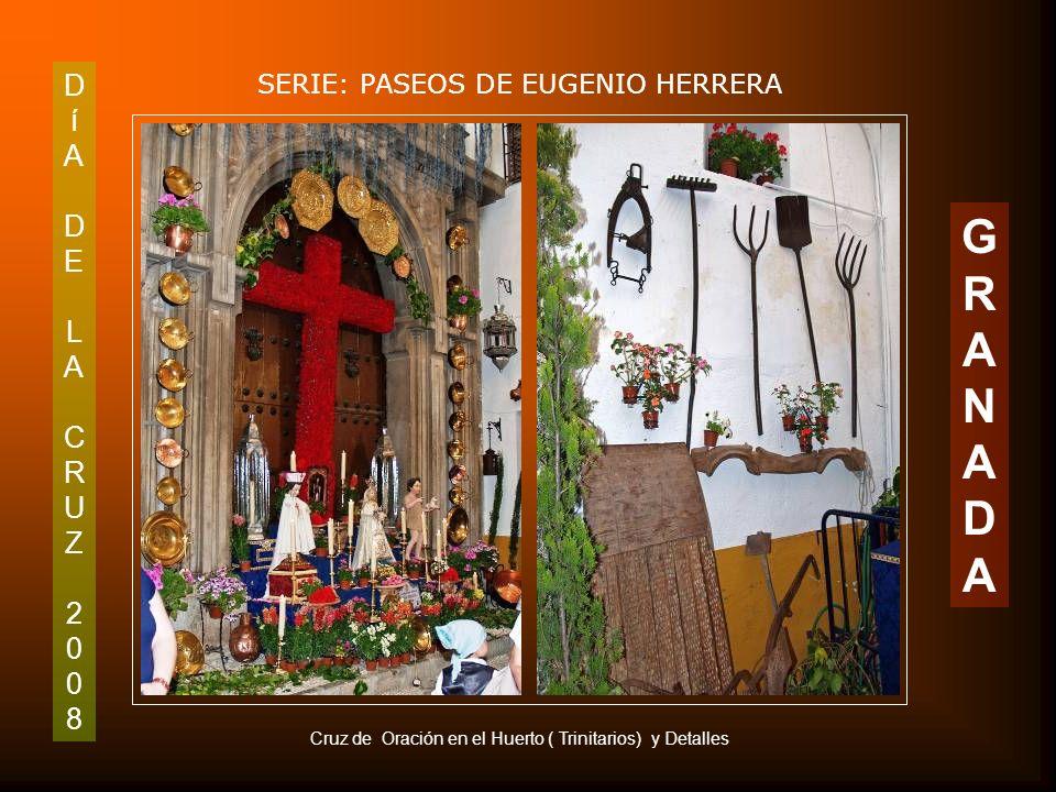 DíADELACRUZ2008DíADELACRUZ2008 SERIE: PASEOS DE EUGENIO HERRERA GRANADAGRANADA Primer Premio de Escaparates: El Bolillo de Calle Tablas