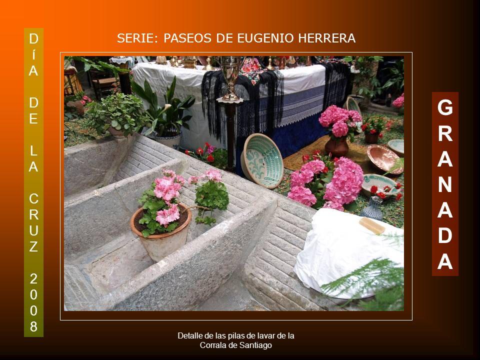 DíADELACRUZ2008DíADELACRUZ2008 SERIE: PASEOS DE EUGENIO HERRERA GRANADAGRANADA Gramófono de la Corrala de Santiago