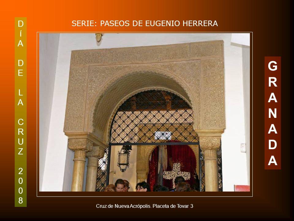 DíADELACRUZ2008DíADELACRUZ2008 SERIE: PASEOS DE EUGENIO HERRERA GRANADAGRANADA Detalles de la Cruz de los Trinitarios
