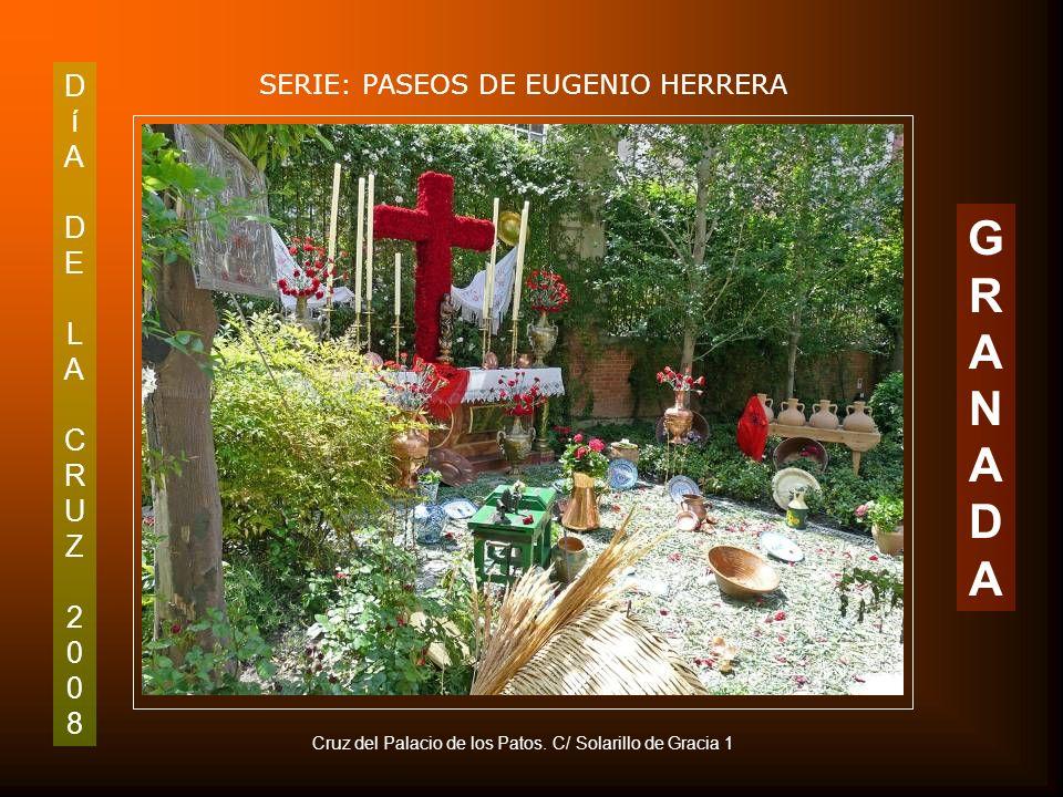 DíADELACRUZ2008DíADELACRUZ2008 SERIE: PASEOS DE EUGENIO HERRERA GRANADAGRANADA Detalle de la Cruz de los Trinitarios