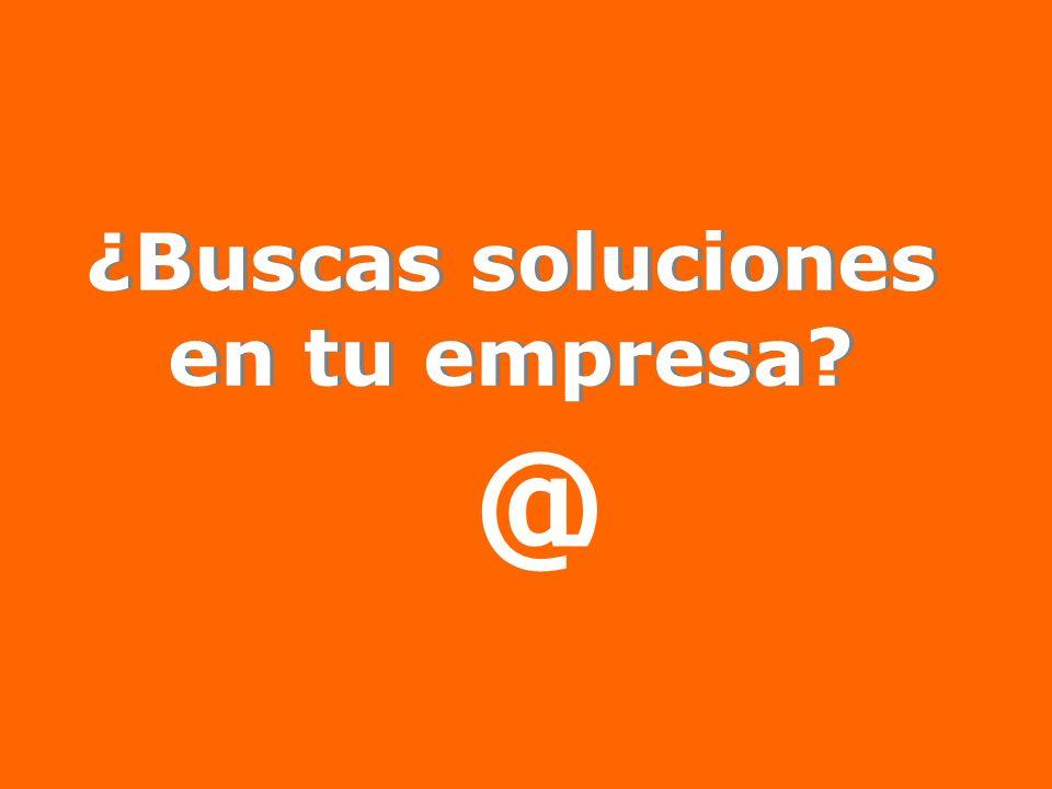 ¿Buscas soluciones en tu empresa? @