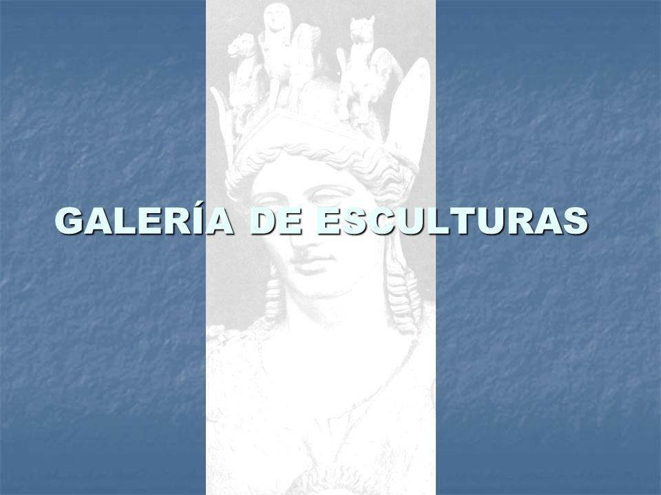 GALERÍA DE ESCULTURAS