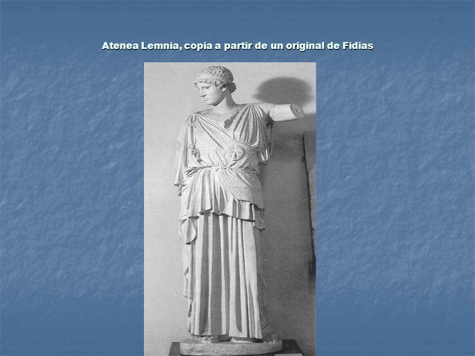 Atenea Lemnia, copia a partir de un original de Fidias