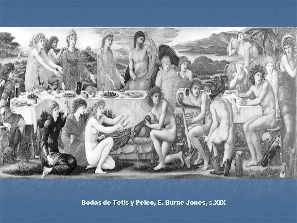 Bodas de Tetis y Peleo, E. Burne Jones, s.XIX