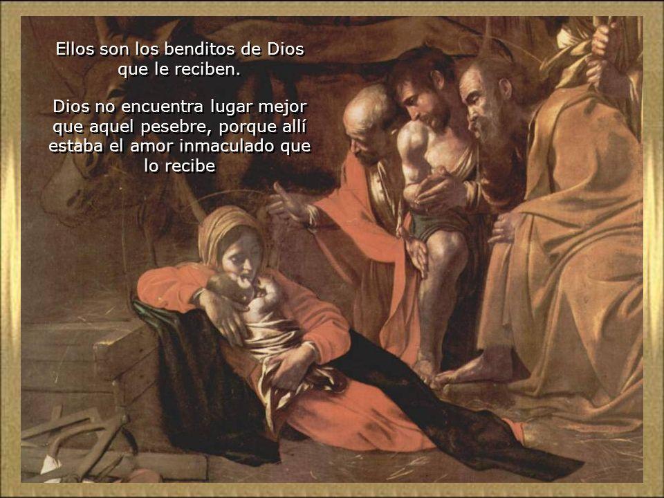 La Virgen y San José, con su fe, esperanza y caridad salen victoriosos en la prueba. No hay rechazo, ni frío, ni oscuridad ni incomodidad, que les pue