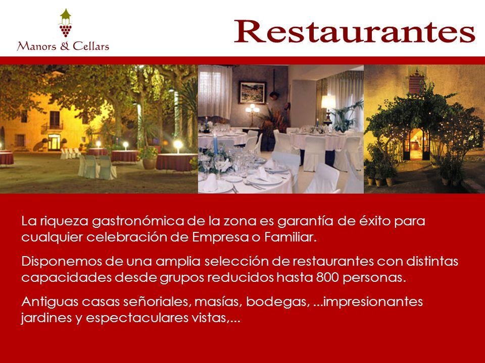 La riqueza gastronómica de la zona es garantía de éxito para cualquier celebración de Empresa o Familiar. Disponemos de una amplia selección de restau