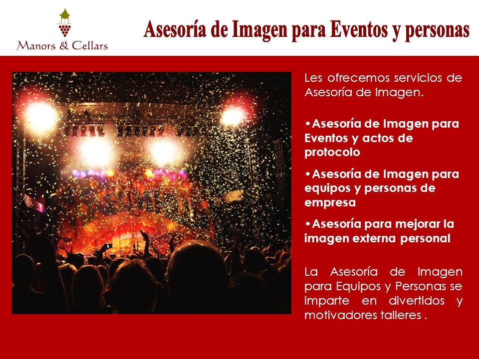 Les ofrecemos servicios de Asesoría de Imagen. Asesoría de Imagen para Eventos y actos de protocolo Asesoría de Imagen para equipos y personas de empr