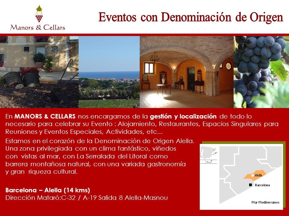 En MANORS & CELLARS nos encargamos de la gestión y localización de todo lo necesario para celebrar su Evento : Alojamiento, Restaurantes, Espacios Sin