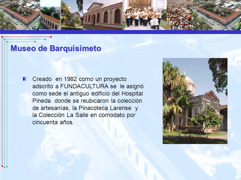 Creado en 1982 como un proyecto adscrito a FUNDACULTURA se le asignó como sede el antiguo edificio del Hospital Pineda donde se reubicaron la colecció