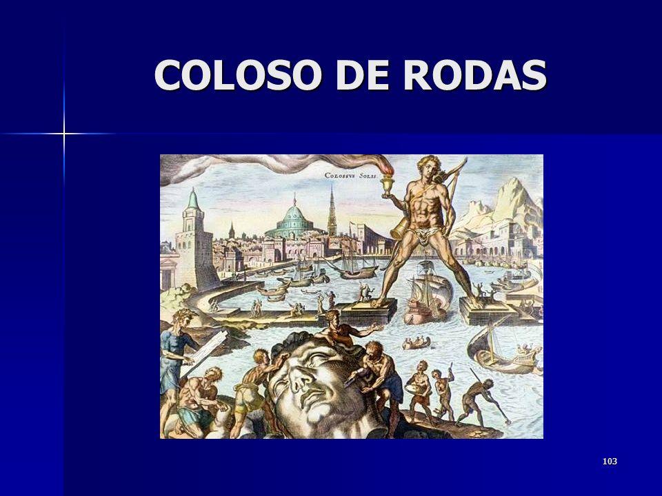103 COLOSO DE RODAS