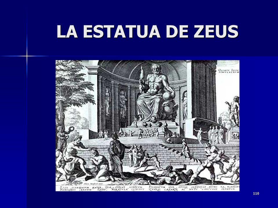 110 LA ESTATUA DE ZEUS