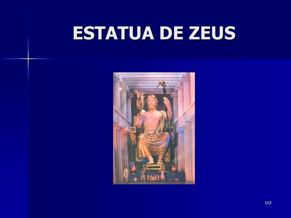 113 ESTATUA DE ZEUS