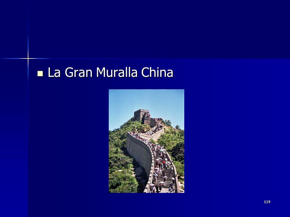 119 La Gran Muralla China La Gran Muralla China