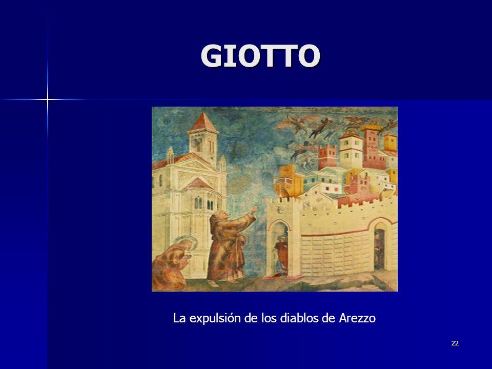 22 GIOTTO La expulsión de los diablos de Arezzo