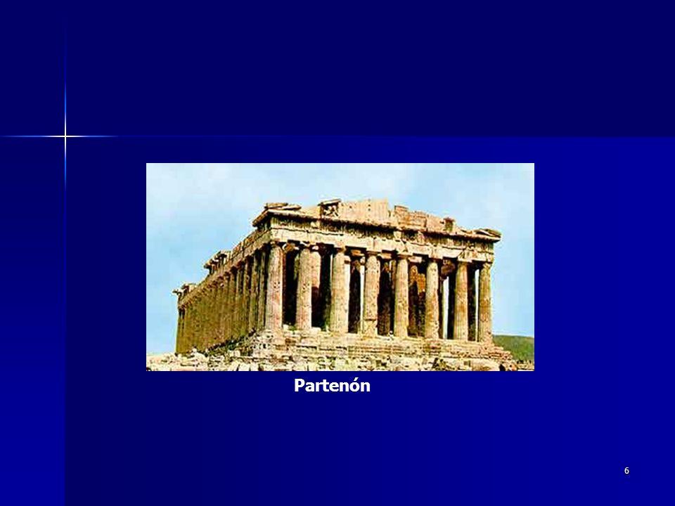 7 Las cualidades e ideas que sugiere el arte clásico de la antigüedad grecorromana han sido reinterpretadas una y otra vez durante la historia del arte occidental en una corriente denominada clasicismo.